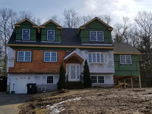 2nd Level Addition on A Split Level Home